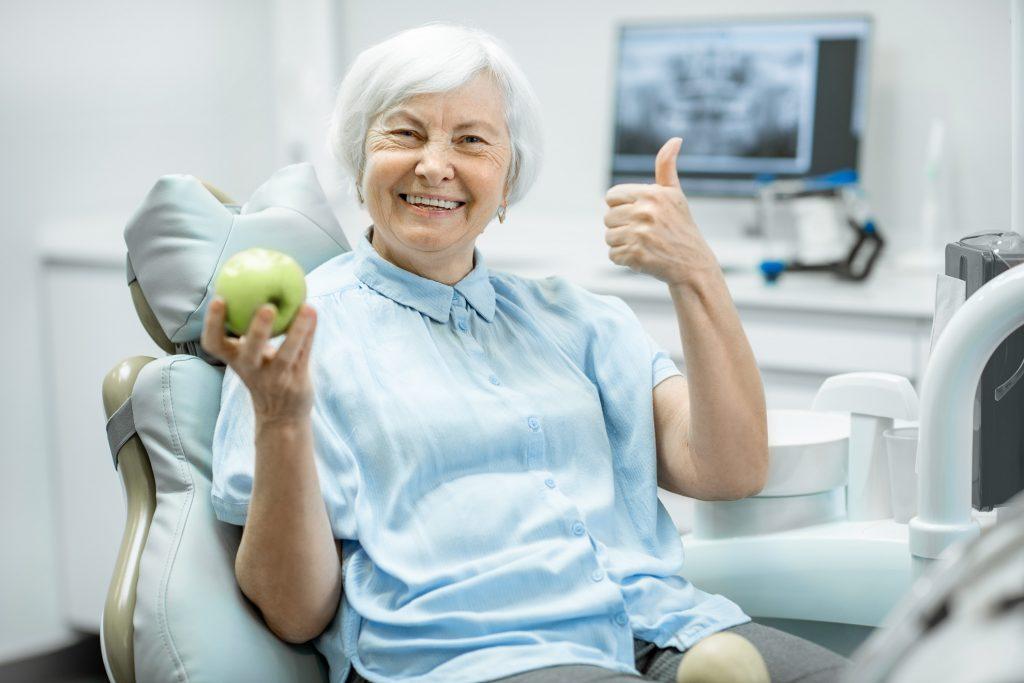 Dental Implant Happy Patient