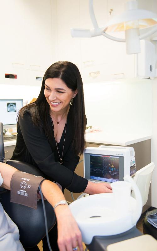 dental sedationist Dr Melissa Licenblat helps dental anxiety