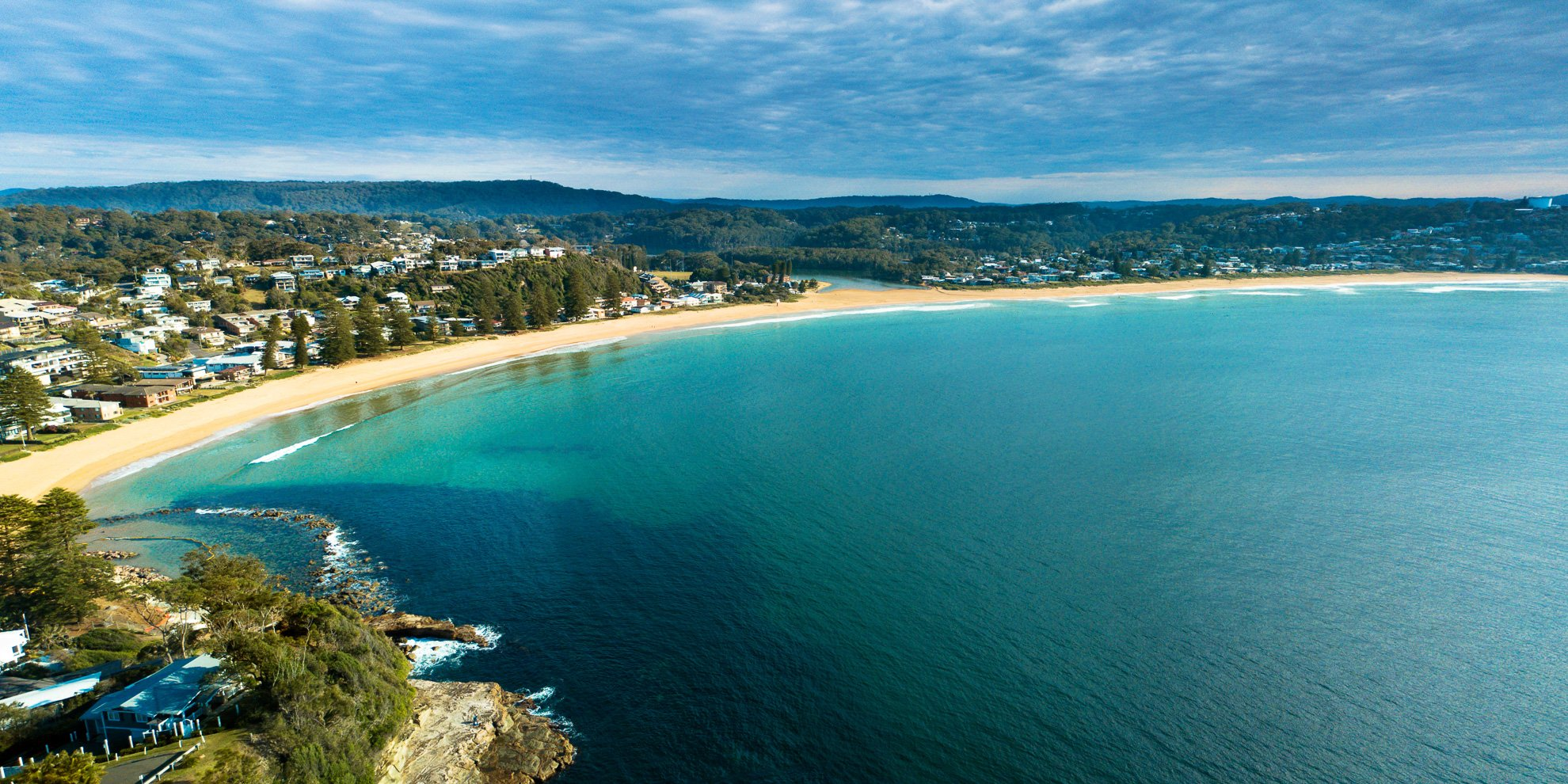 Avoca Beach panorama